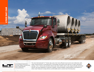 LT Series Daycab Specifications Brochure