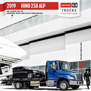 Hino 258 ALP Medium Duty Truck