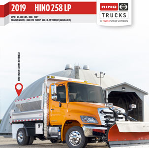 Hino 258 LP Medium Duty Truck