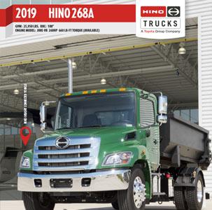 Hino 268A Medium Duty Truck
