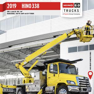 Hino 338 Medium Duty Truck