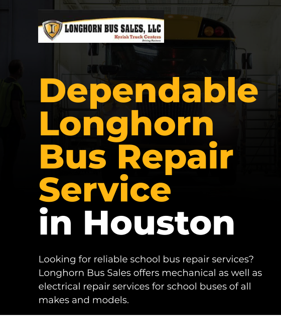 Dependable Longhorn Bus Repair Service in Houston