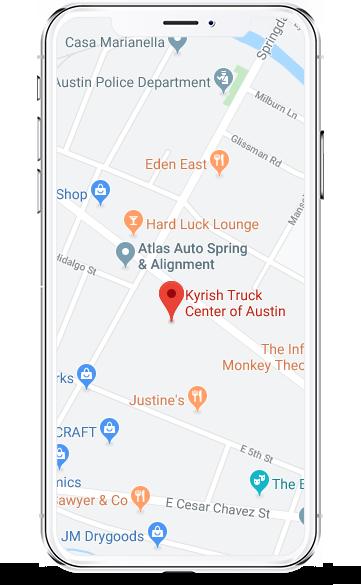 austin mobile map